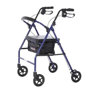 Steel 4 Wheel Rollator