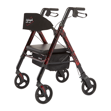 Regal - Bariatric Aluminum 4 Wheel Rollator