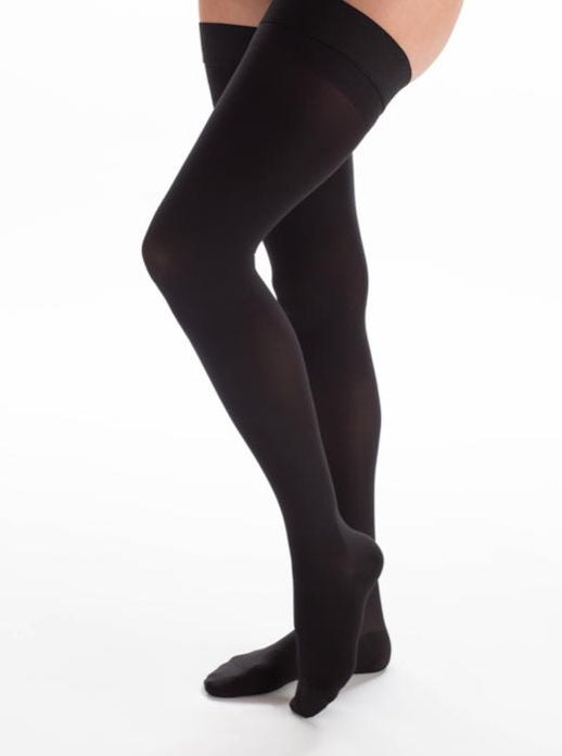Couture Thigh High Compression Stockings 20-30mmHg