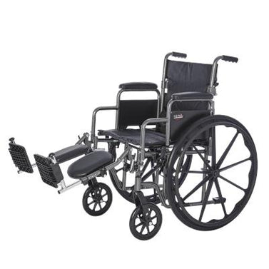 Deluxe Desk Arm Wheelchair