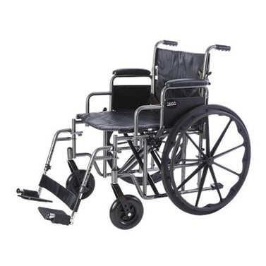 Bariatric Deluxe Desk Arm Wheelchair