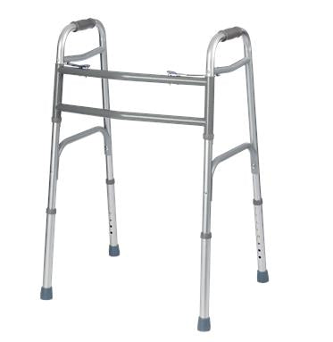 Bariatric Extra Wide Two Button Folding Walker