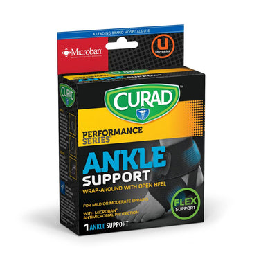 CURAD Adjustable Wraparound Ankle Support