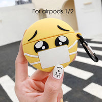 Emojis Face Mask Cases For AirPods - PodJacket™ - PodJacket AirPods Cases