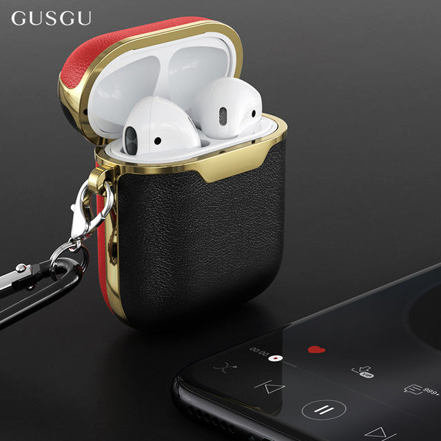 Premium Leather PodJacket™ for AirPods 1/2 - PodJacket AirPods Cases