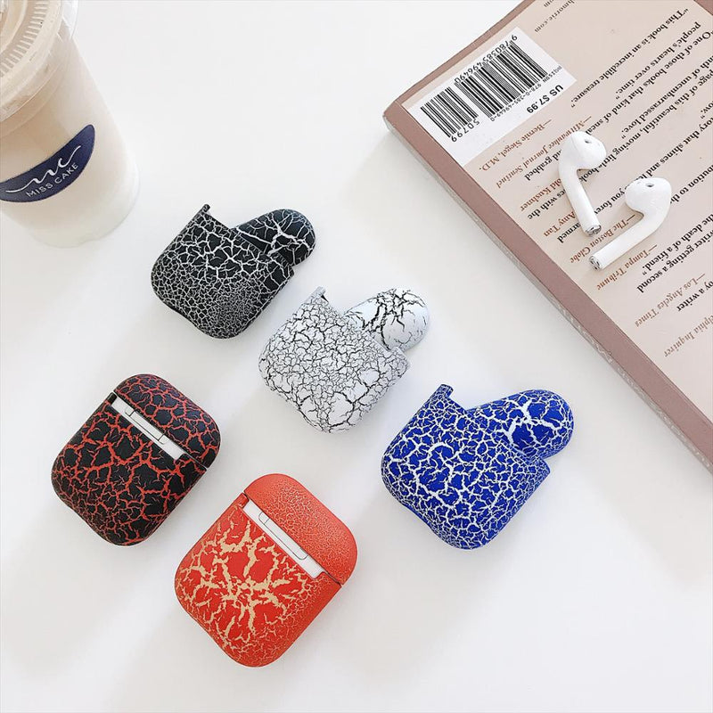 Crack Pattern Hard Cases For AirPods - PodJacket™ - PodJacket AirPods Cases