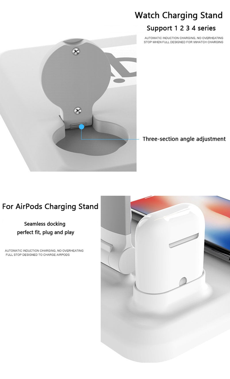 SLIMBA LED Desk Lamp Wireless Charger For AirPods iPhone Watch - PodJacket™ - PodJacket AirPods Cases