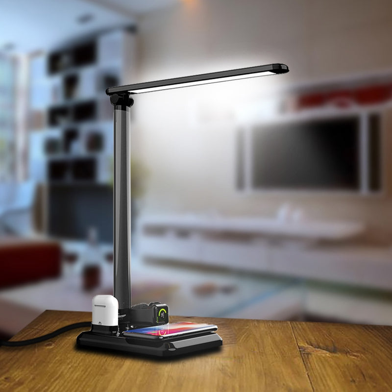 SLIMBA LED Desk Lamp Wireless Charger For AirPods iPhone Watch - PodJacket™ - PodJacket™