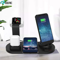 4 in 1 Wireless Charging Dock For Apple Watch iPhone AirPods - PodJacket™ - PodJacket AirPods Cases