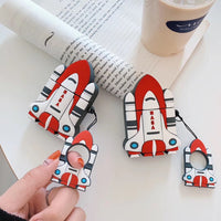 Retro Spaceship Collection AirPods Cases - PodJacket™ - PodJacket AirPods Cases