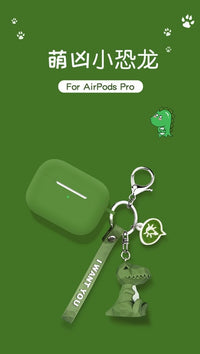 3D Cartoon Keychain AirPods Pro Cases - PodJacket™ - PodJacket AirPods Cases