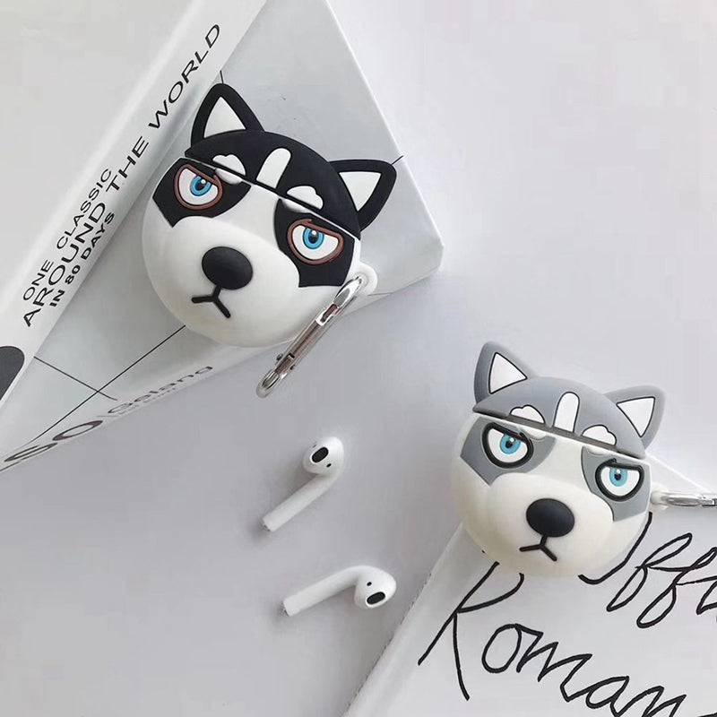 Siberian Husky Dog AirPods Cases - PodJacket™ - PodJacket™