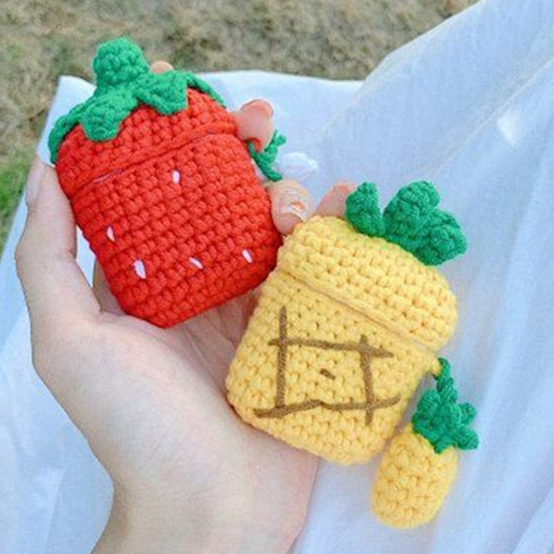 Knitted Fruit PodJacket™ for AirPods 1/2 - PodJacket™