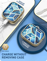 Stylish Cosmo Marble Cases For AirPods - PodJacket™ - PodJacket AirPods Cases