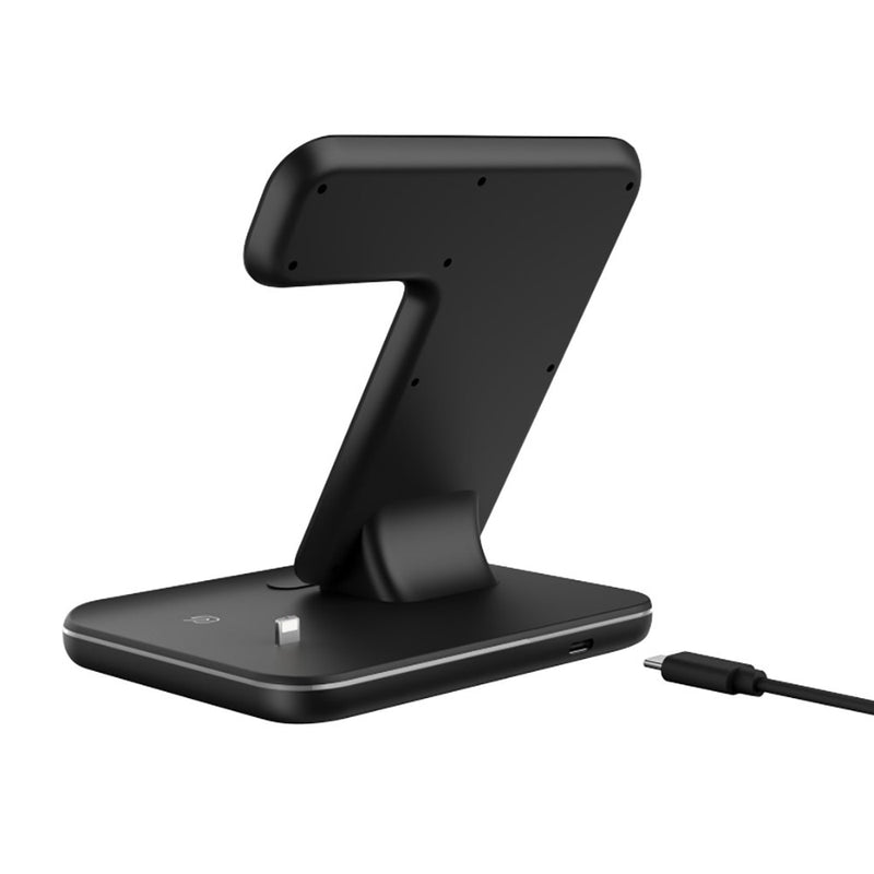 DMax 3-In-1 Wireless Fast Charging Dock Stand For AirPods Watch iPhone - PodJacket™ - PodJacket AirPods Cases