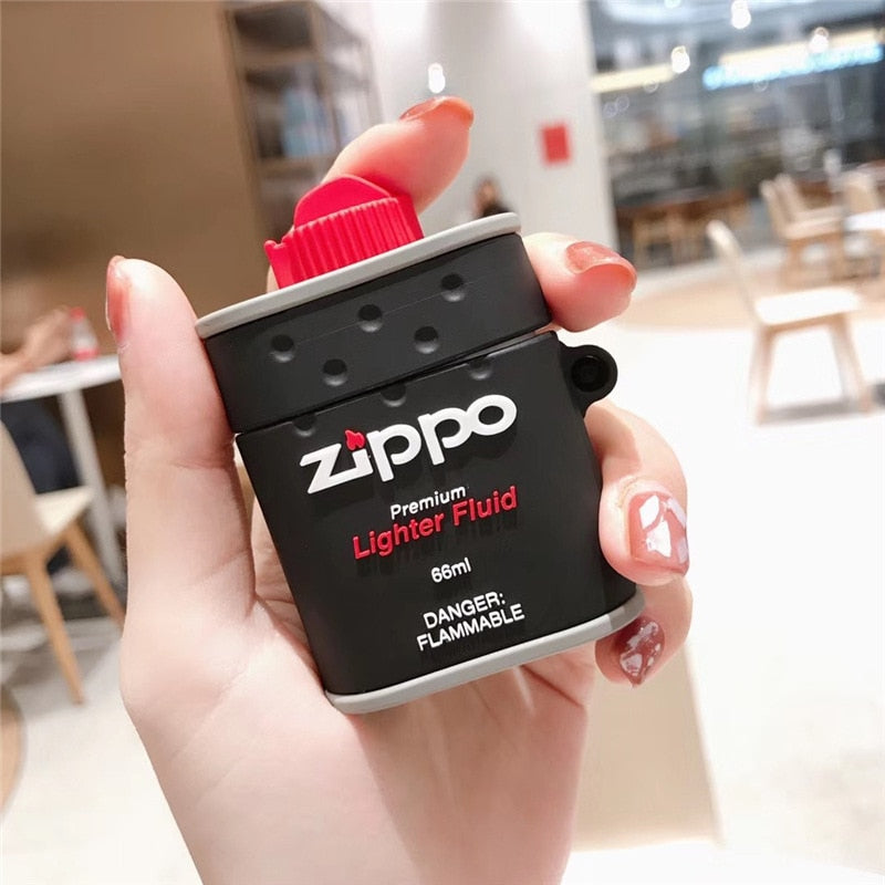 3D Zip Lighter AirPods Cases - PodJacket™ - PodJacket AirPods Cases