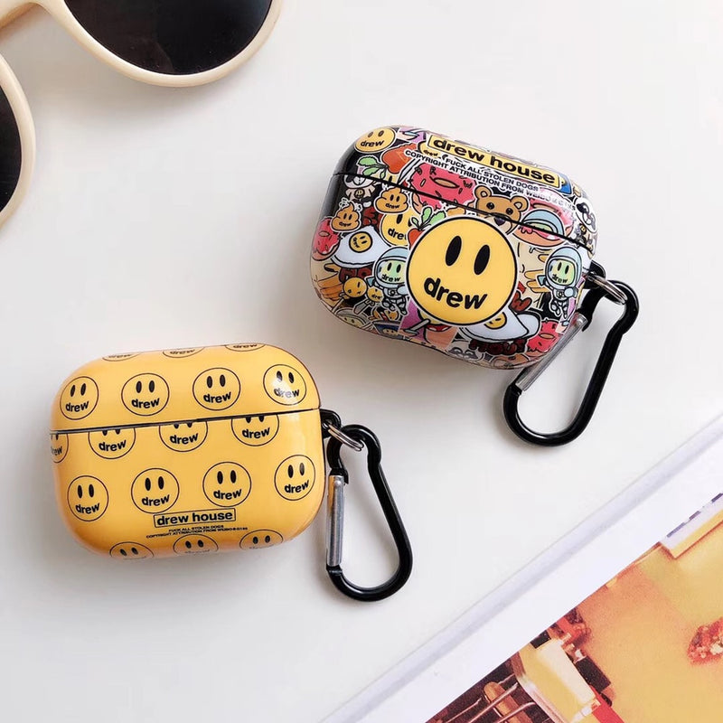 Drew House Smiley AirPods 1/2/Pro Cases - PodJacket™ - PodJacket AirPods Cases