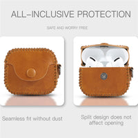 Premium Genuine Leather AirPods Pro Cases  - PodJacket™ - PodJacket AirPods Cases
