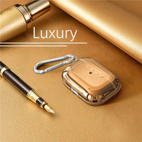 Luxury Litchi Grain Plating Cases For AirPods Pro - PodJacket™ - PodJacket AirPods Cases