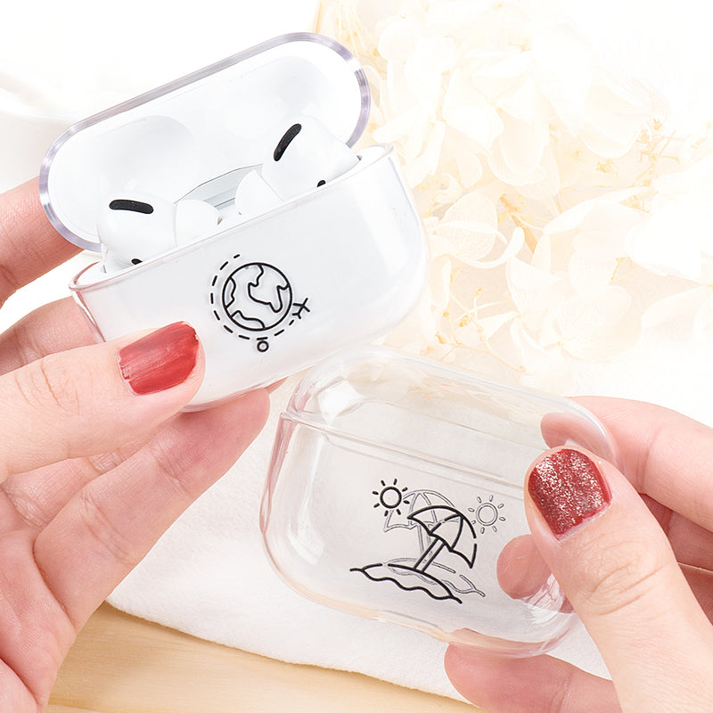 Classic Transparent Clear Hard Cases for AirPods Pro  - PodJacket™ - PodJacket AirPods Cases