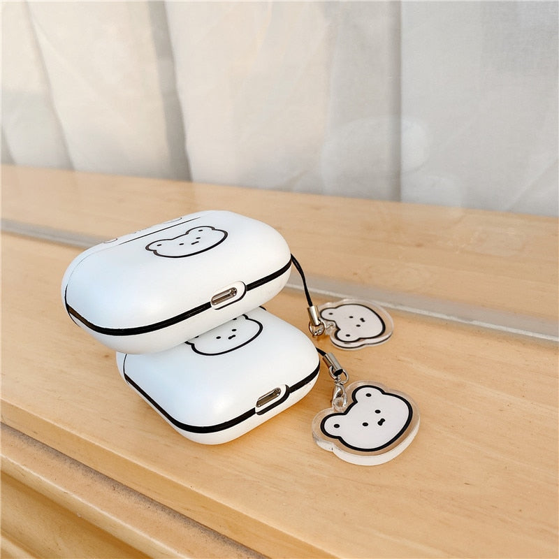 Minimalist Bear AirPods Cases - PodJacket™ - PodJacket AirPods Cases