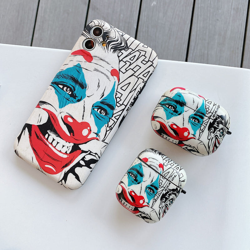 Clown Face AirPods Pro Cases - PodJacket™ - PodJacket AirPods Cases