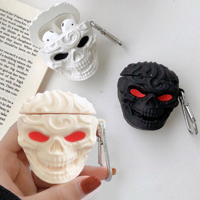 3D Skull AirPods Cases - PodJacket™ - PodJacket AirPods Cases
