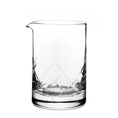 Vaso Mezclador YARAI FLAT BOTTOM 500 ml. Cocktail Kingdom