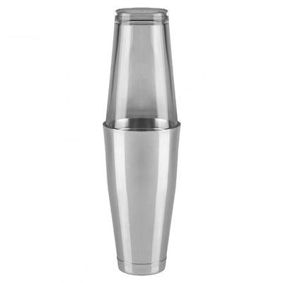 Coctelera Boston + Vaso Cristal, 820ml.
