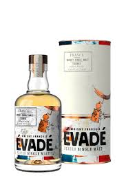 Whisky Evade Single Malt Peated, 70 cl.