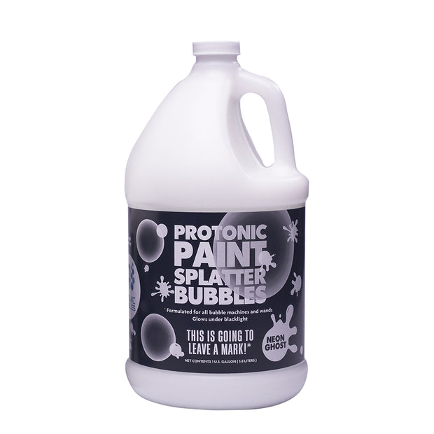 Protonic Paint Splatter Bubbles 32 oz Neon Ghost Atomic Bubbles