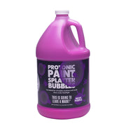 Protonic Paint Splatter Bubbles 32 oz Neon Purple Atomic Bubbles