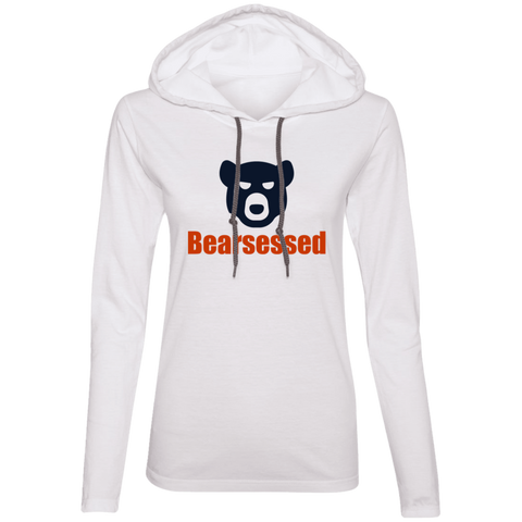 Bearsessed Bear Ladies' T-Shirt Hoodie