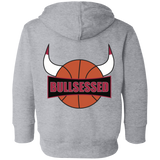 Bullsessed Toddler Fleece Hoodie
