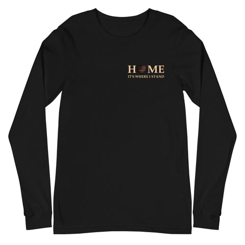 Home - It's Where I Stand LS Tee
