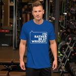 I'd Rather be at Wrigley Unisex T-Shirt (Blue)