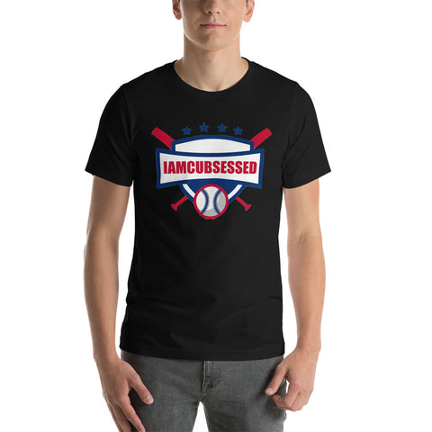 IAMCUBSESSED Short-Sleeve Unisex T-Shirt