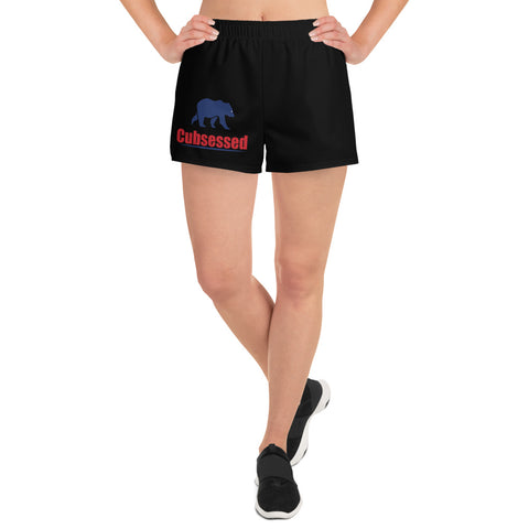 Cubsessed Women's Athletic Short Shorts