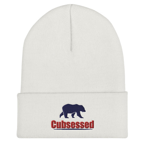 Cubsessed Cuffed Beanie
