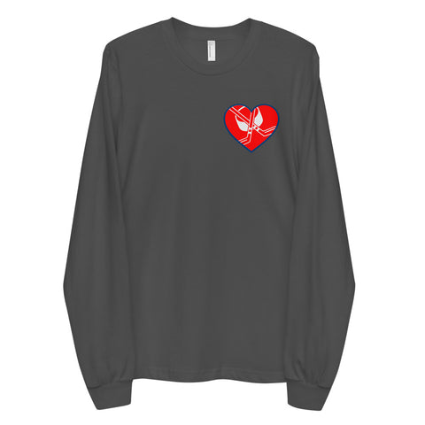 Hockeysessed - Heart Belongs to Long sleeve t-shirt