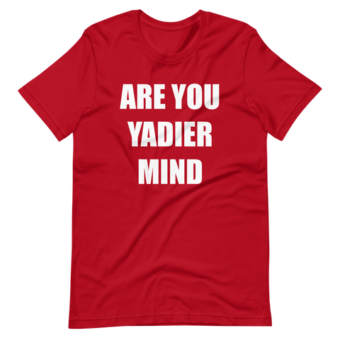 Yadier Mind Short-Sleeve Unisex T-Shirt
