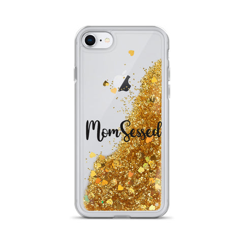 MOMSESSED Liquid Glitter Phone Case