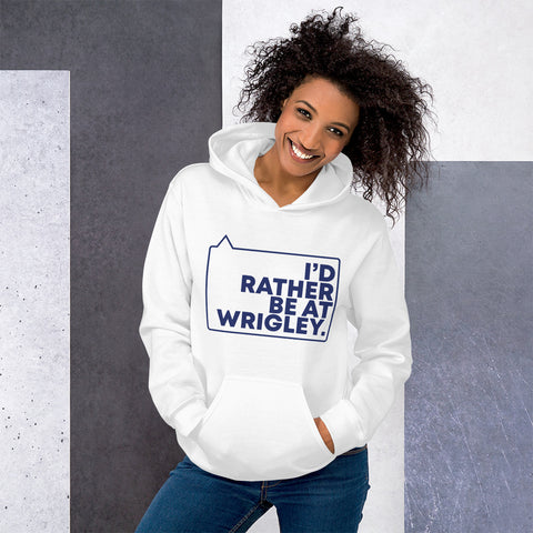 I'd Rather be at Wrigley Unisex Hoodie