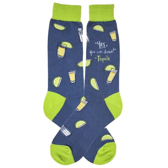 Foot Traffic - MEN'S TEQUILA SOCKS