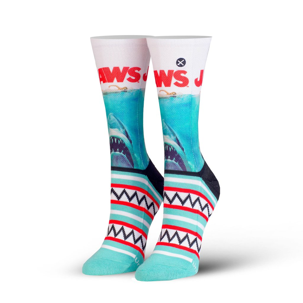 Odd Sox Officially Licensed - Women's Crew Standard - Jaws Teeth