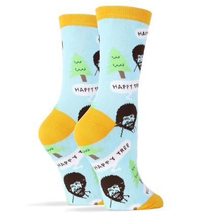 Oooh Yeah - Bob Ross Happy Tree Women's 1