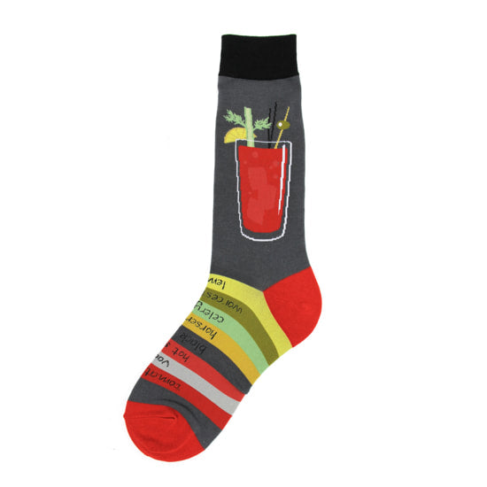 Foot Traffic - MEN'S BLOODY MARY SOCKS