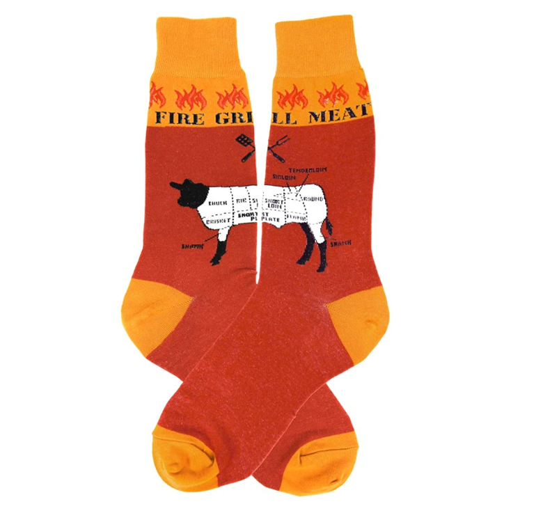 Foot Traffic - MEN'S GRILLING SOCKS