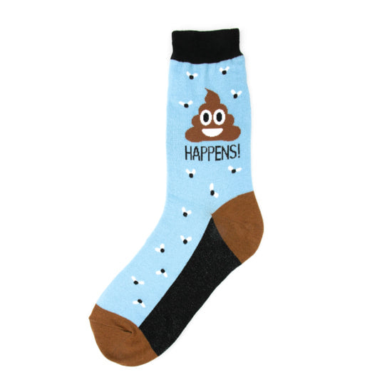 Foot Traffic - POOP HAPPENS WOMEN'S SOCKS