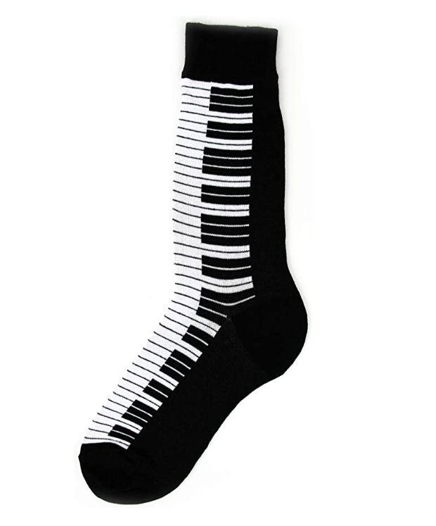 Foot Traffic - MEN'S PIANO SOCKS